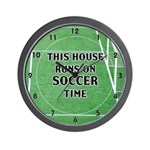 Soccer Time Wall Clock