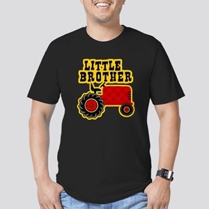 Red Tractor Little Brother Men's Fitted T-Shirt (d