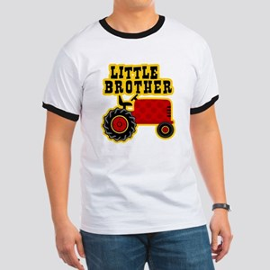 Red Tractor Little Brother Ringer T