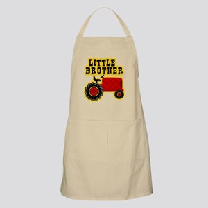 Red Tractor Little Brother Apron