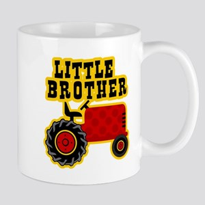 Red Tractor Little Brother Mug