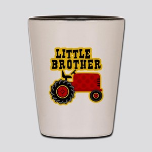 Red Tractor Little Brother Shot Glass