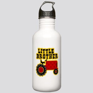 Red Tractor Little Brother Stainless Water Bottle