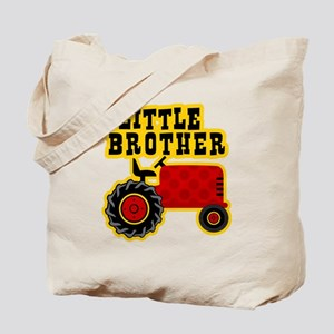 Red Tractor Little Brother Tote Bag