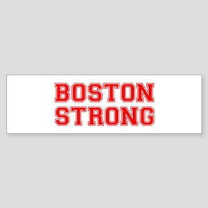 boston-strong-car-red Bumper Sticker