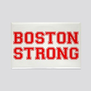 boston-strong-car-red Rectangle Magnet