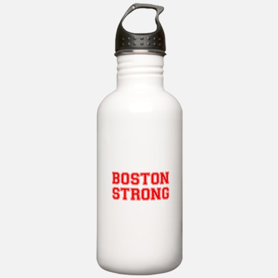boston-strong-car-red Water Bottle