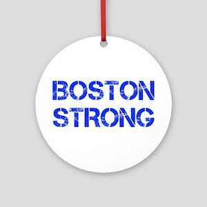 boston-strong-cap-blue Ornament (Round)