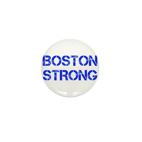 boston-strong-cap-blue Mini Button (100 pack)