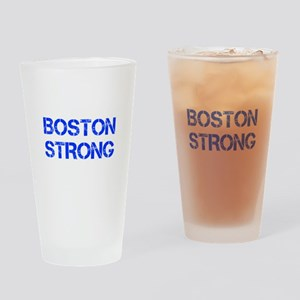 boston-strong-cap-blue Drinking Glass