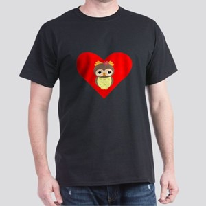 Owl Heart T-Shirt