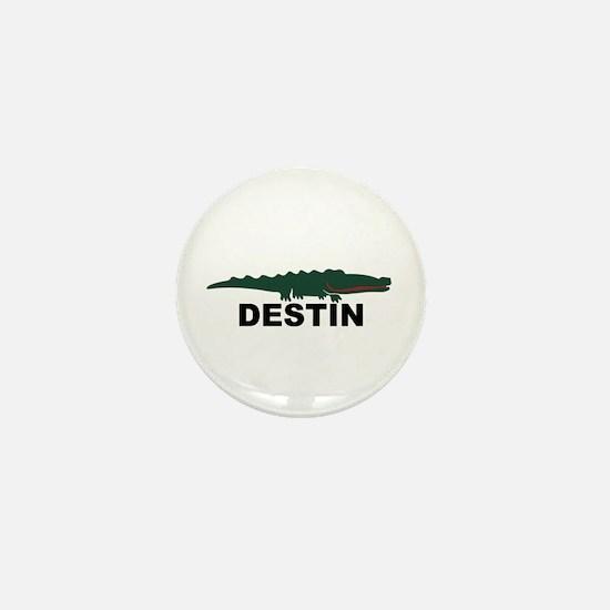 Destin Florida - Alligator Design. Mini Button
