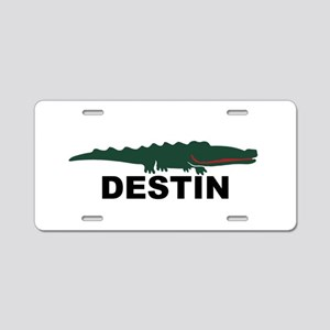 Destin Florida - Alligator Design. Aluminum Licens