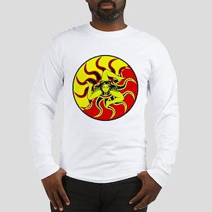 Sicilia Trinacria Sicilian Long Sleeve T-Shirt