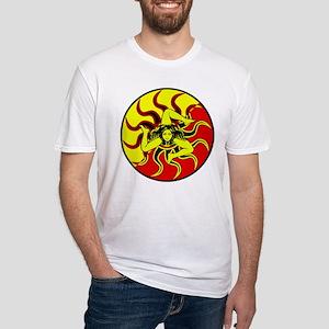 Sicilia Trinacria Sicilian Pride Fitted T-Shirt