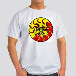 Sicilia Trinacria Sicilian Pride Ash Grey T-Shirt
