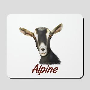 Alpine Goat Portrait Annabell Mousepad