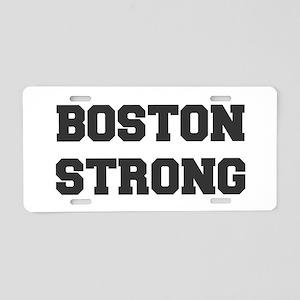boston-strong-dark-gray Aluminum License Plate