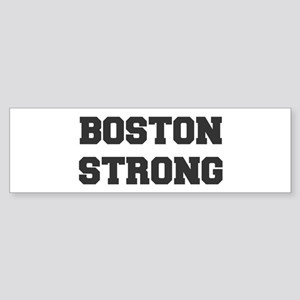boston-strong-dark-gray Bumper Sticker