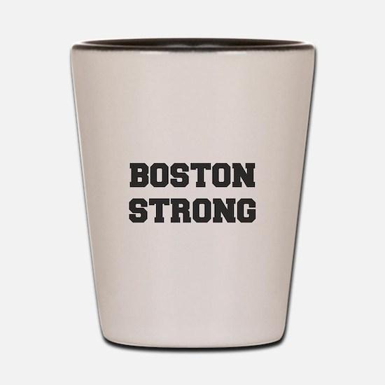 boston-strong-dark-gray Shot Glass