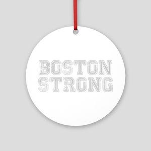 boston-strong-coll-light-gray Ornament (Round)