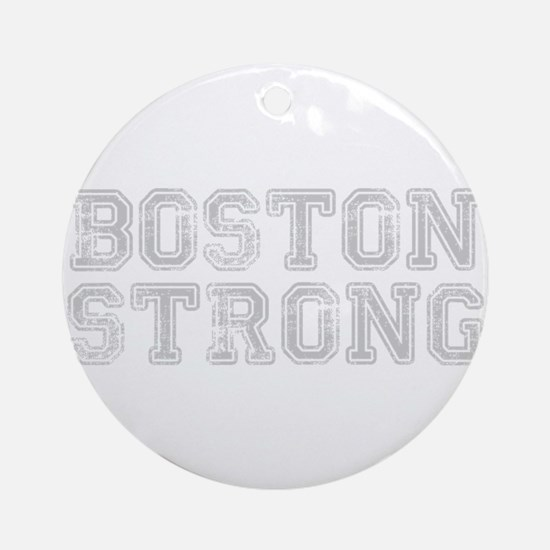 boston-strong-coll-light-gray Ornament (Round)