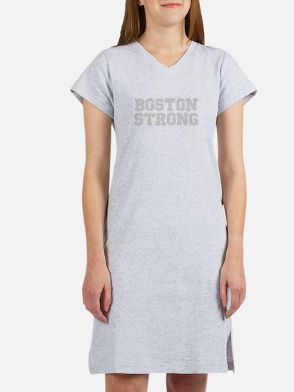 boston-strong-coll-light-gray Women's Nightshirt
