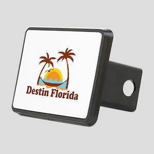 Destin Florida - Palm Tees Design. Rectangular Hit