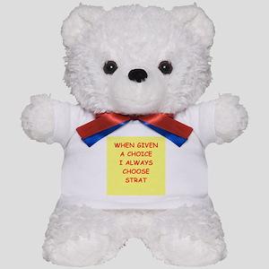 strat Teddy Bear