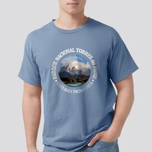 Torres Del Paine Np Mens Comfort Colors Shirt