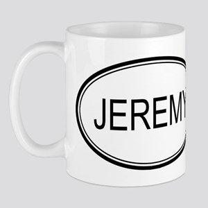 Jeremy Oval Design Mug
