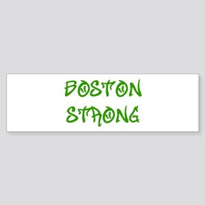 boston-strong-st-green Bumper Sticker
