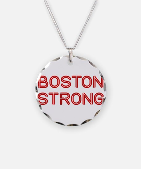 boston-strong-so-dark-red Necklace