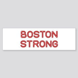 boston-strong-so-dark-red Bumper Sticker