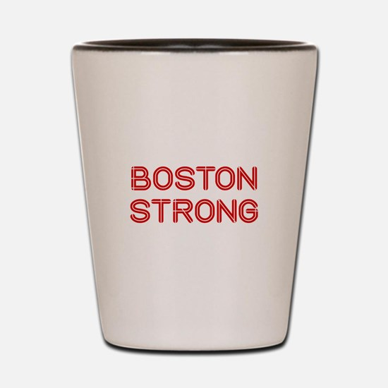 boston-strong-so-dark-red Shot Glass