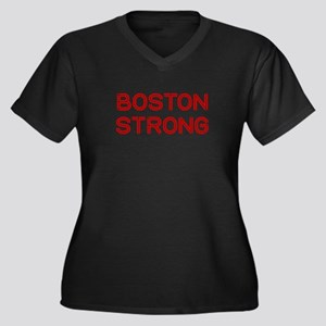 boston-strong-so-dark-red Plus Size T-Shirt