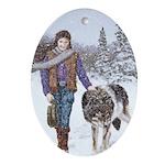 Companions: Oval Ornament