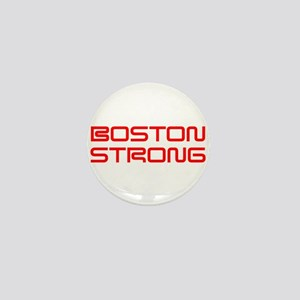 boston-strong-saved-red Mini Button