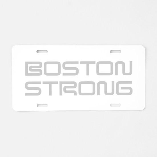 boston-strong-saved-light-gray Aluminum License Pl