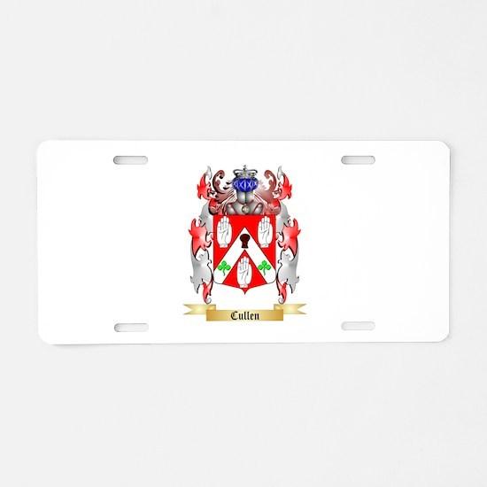 Cullen Aluminum License Plate