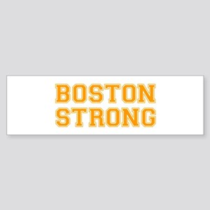 boston-strong-var-orange Bumper Sticker