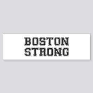 boston-strong-var-dark-gray Bumper Sticker