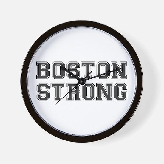 boston-strong-var-dark-gray Wall Clock