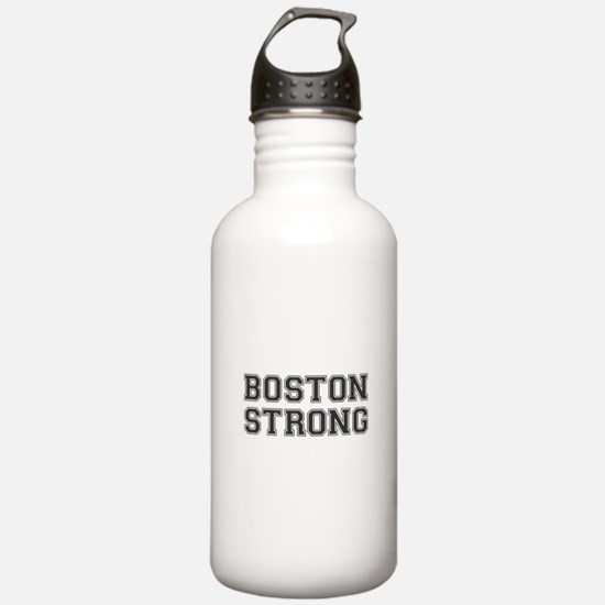 boston-strong-var-dark-gray Water Bottle