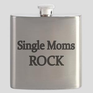 SINGLE MOMS ROCK 2 Flask