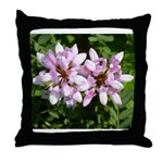 Redbud in MO Cercis canadensis f Throw Pillow