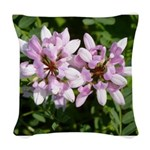 Redbud in MO Cercis canadensis f Woven Throw Pillo