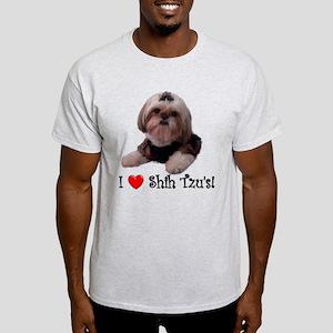 I Love Shih Tzu Light T-Shirt