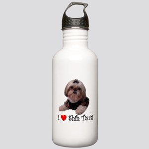 I Love Shih Tzu Stainless Water Bottle 1.0L