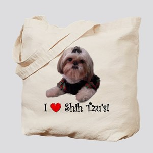 I Love Shih Tzu Tote Bag